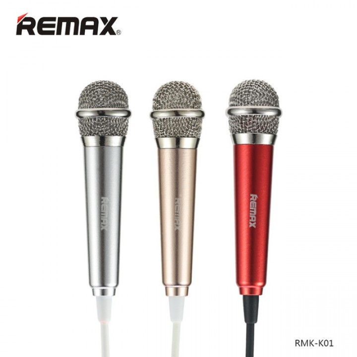 Мини микрофон Remax Sing Song RMK-K01
