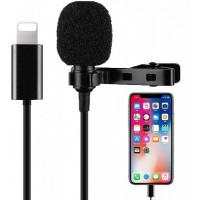 Петличный Микрофон Для iPhone (Lightning)