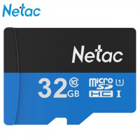 Флеш карта SD Card Netac 32 Gb (Микро SD Card 32 Gb)