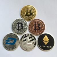 Сувенирные монеты криптовалют