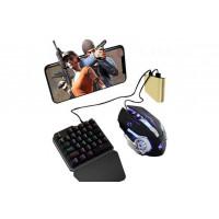 Контроллер Dilong D6 мышка и клавиатура для игры PUBG