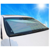 Солнцезащитная шторка экран в машину на лобовое стекло