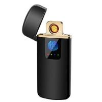 USB зажигалка электроимпульсная c сенсорной кнопкой