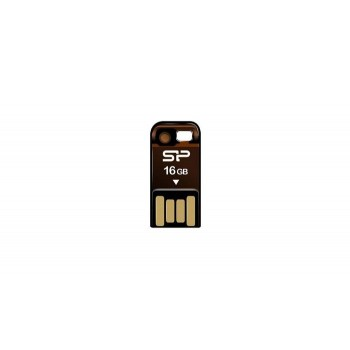 USB Flash Drive 16GB Silicon Power Touch T02 (Orange)